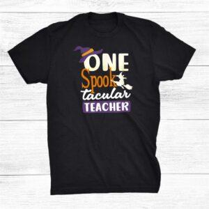 Spooktacular Teacher Halloween Teacher Shirt