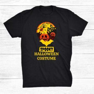 Spooky Halloween Costume Unique Novelty Celebration Boo Shirt