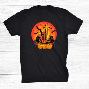 Spooky Halloween Tractor Driver Shirt