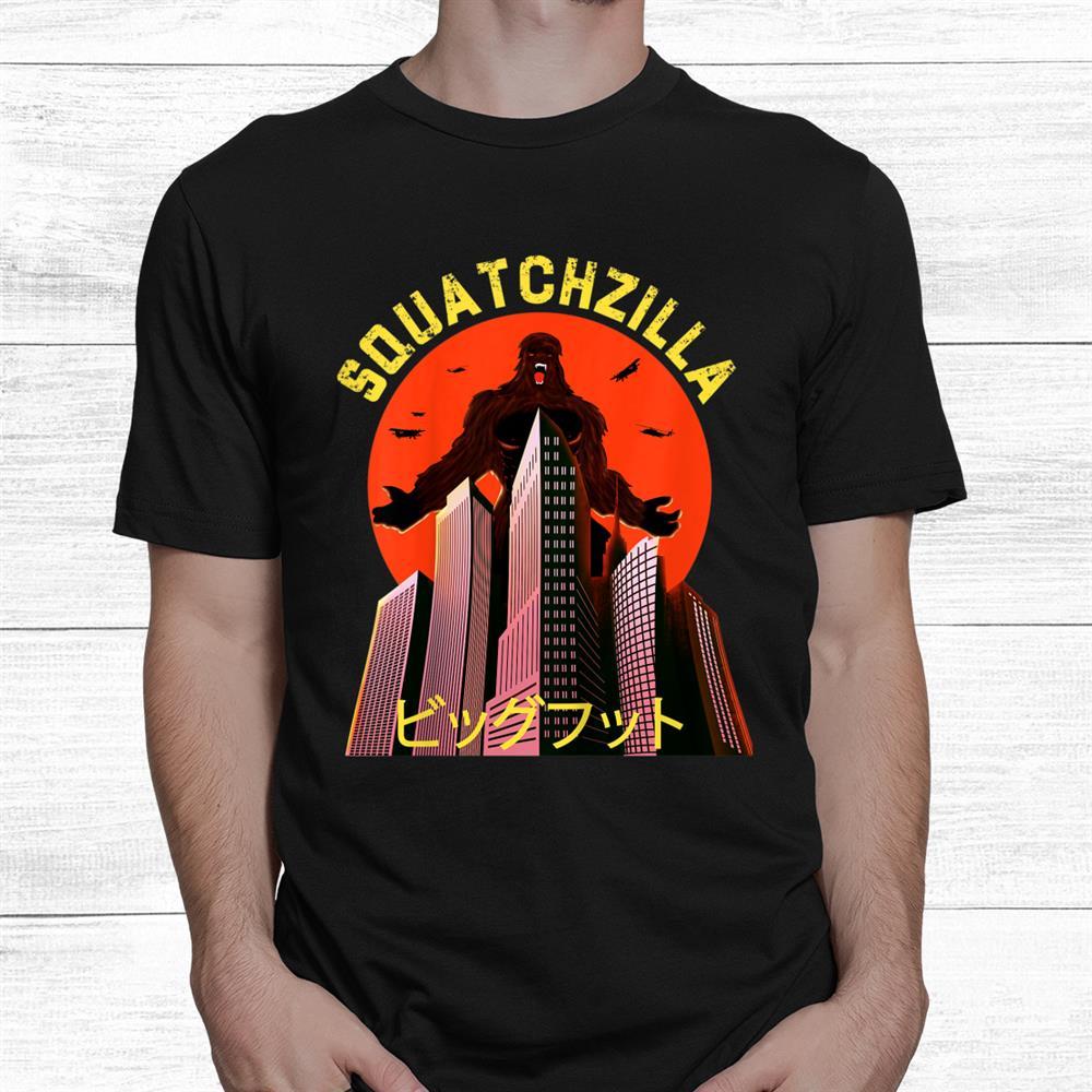 Squatchzilla Bigfoot Shirt