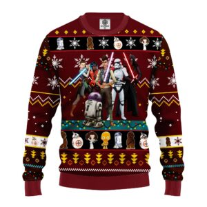 Star Wars Dark Ugly Christmas Sweater