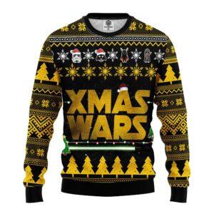 Star Wars Yellow Ugly Christmas Sweater