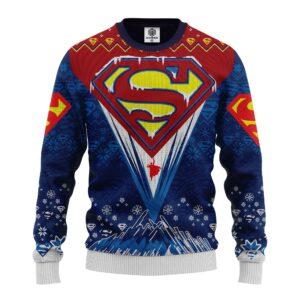 Superman Dc Ugly Christmas Sweater