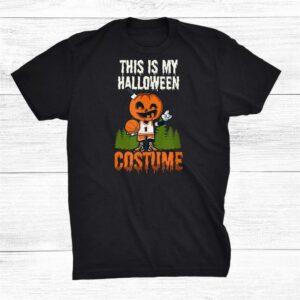 This Is My Costume Halloween Basketball Shirt