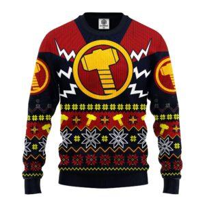 Thor Avengers Ugly Christmas Sweater