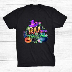 Trick Or Treat Cute Halloween Shirt