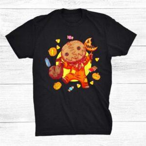 Trick Or Treat Funny Cute Sam Halloween 2021 Candy Shirt