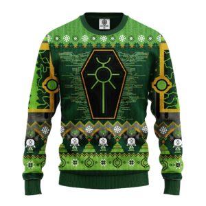 Warhammer0k Green Ugly Christmas Sweater