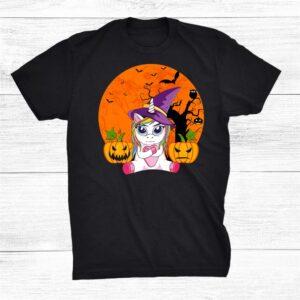 Witch Hat Unicorn Halloween Shirt