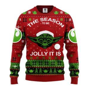 Xmas Yoda Christmas Sweater