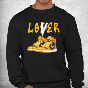 1 high og pollen sneaker match tees loser love shirt 2