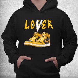 1 high og pollen sneaker match tees loser love shirt 3