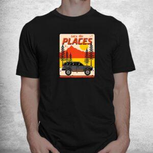 4runner nation overlanding big desert and tall trees shirt 1