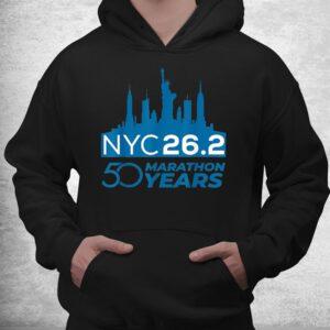 50th nyc marathon day new york city vintage sports 2021 shirt 3