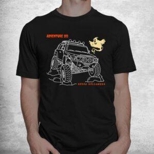 adventure 101 halloween ghost fj cruiser shirt 1