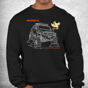 adventure 101 halloween ghost fj cruiser shirt 2