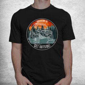 adventure 101 sundown in the mountains fj cruiser shirt 1