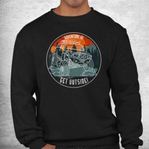adventure 101 sundown in the mountains fj cruiser shirt 2
