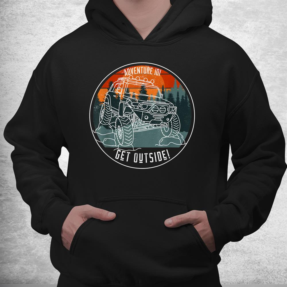 Adventure 101 Sundown In The Mountains Fj Cruiser Shirt