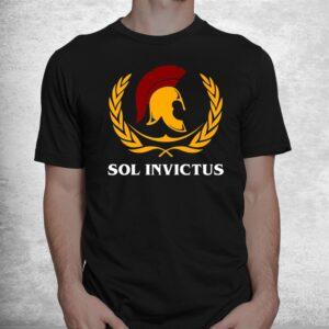 ancient roman mythology sol invictus roman eagle spqr shirt 1