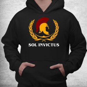 ancient roman mythology sol invictus roman eagle spqr shirt 3