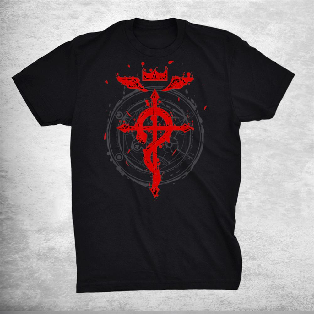 Anime Tee For Fan With Fullmetals Shirt