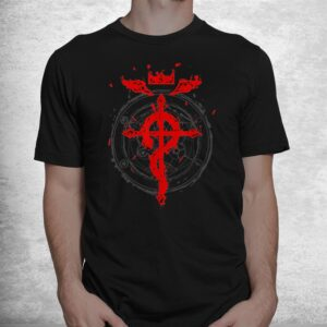 anime tee for fan with fullmetals shirt 1