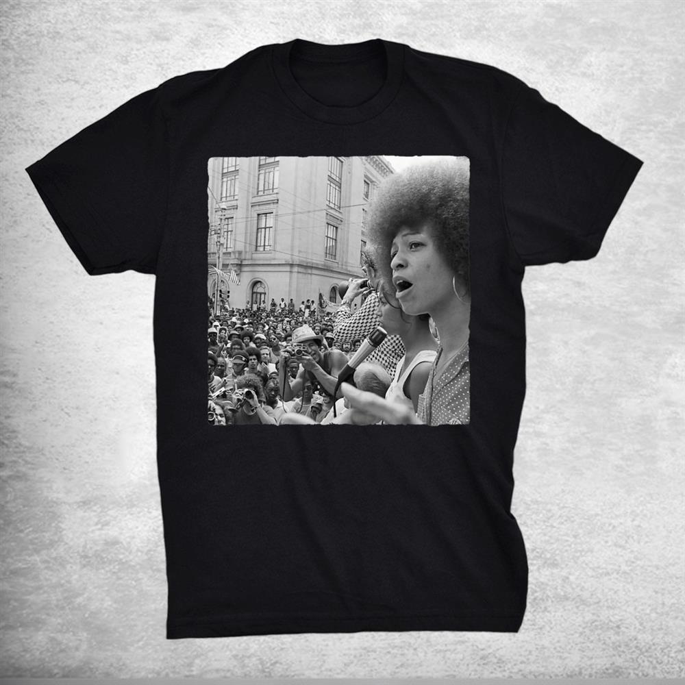 Assata Shakur Civil Rights Activist To Fbis Most Wanted Shirt