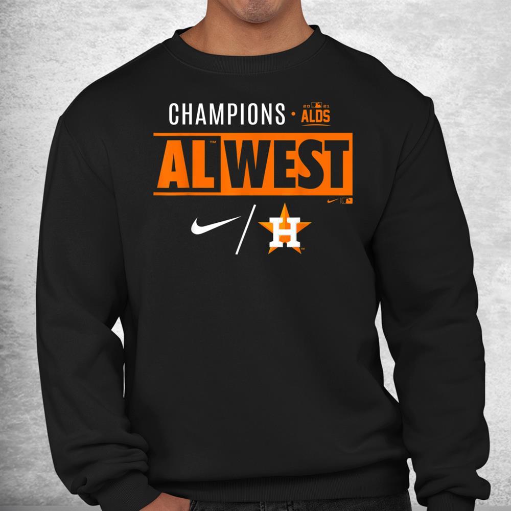 Astros 2021 Al West Champions Official Shirt