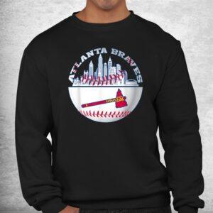 atlanta baseball distressed game day brave vintage fan lover shirt 2