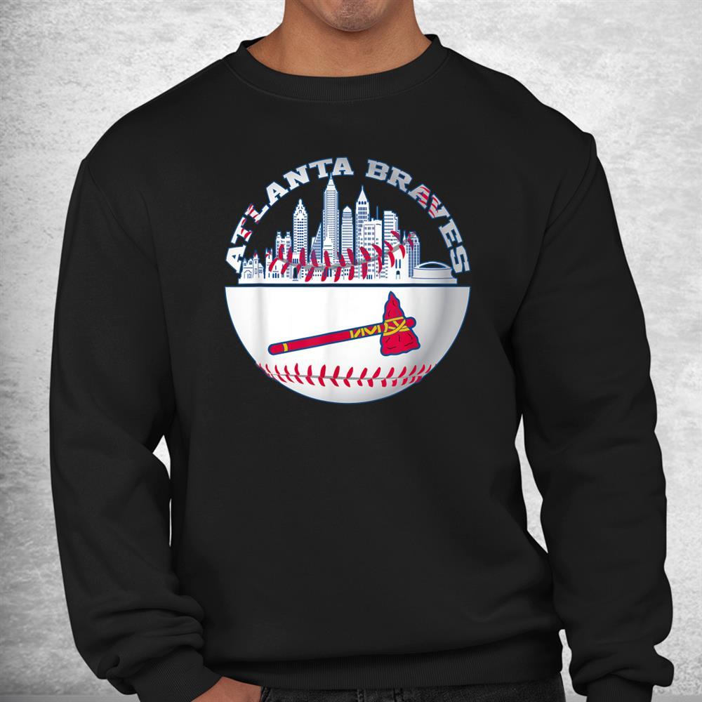 Atlanta Baseball Distressed Game Day Brave Vintage Fan Lover Shirt