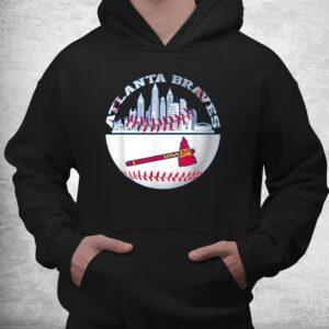 atlanta baseball distressed game day brave vintage fan lover shirt 3