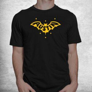 austin bat austin tx bat logo w stars shirt 1