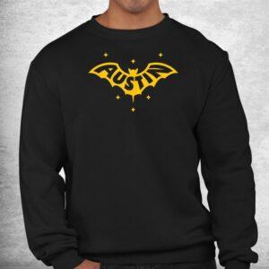 austin bat austin tx bat logo w stars shirt 2