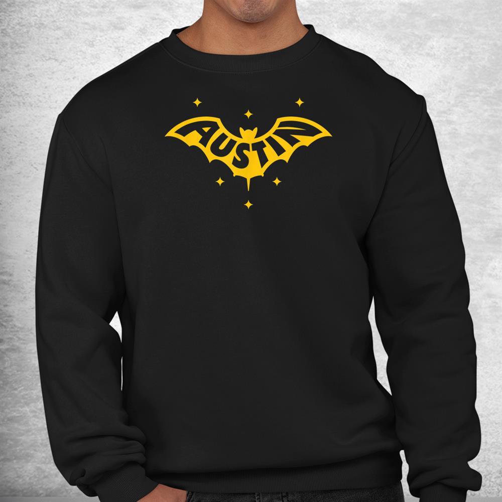 Austin Bat Austin Tx Bat Logo W Stars Shirt