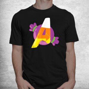 avengers a candy corn halloween shirt 1