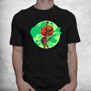 awful pumpkin zombie graphic halloween shirts fun halloween shirt 1