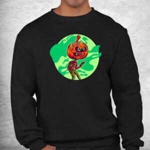 awful pumpkin zombie graphic halloween shirts fun halloween shirt 2