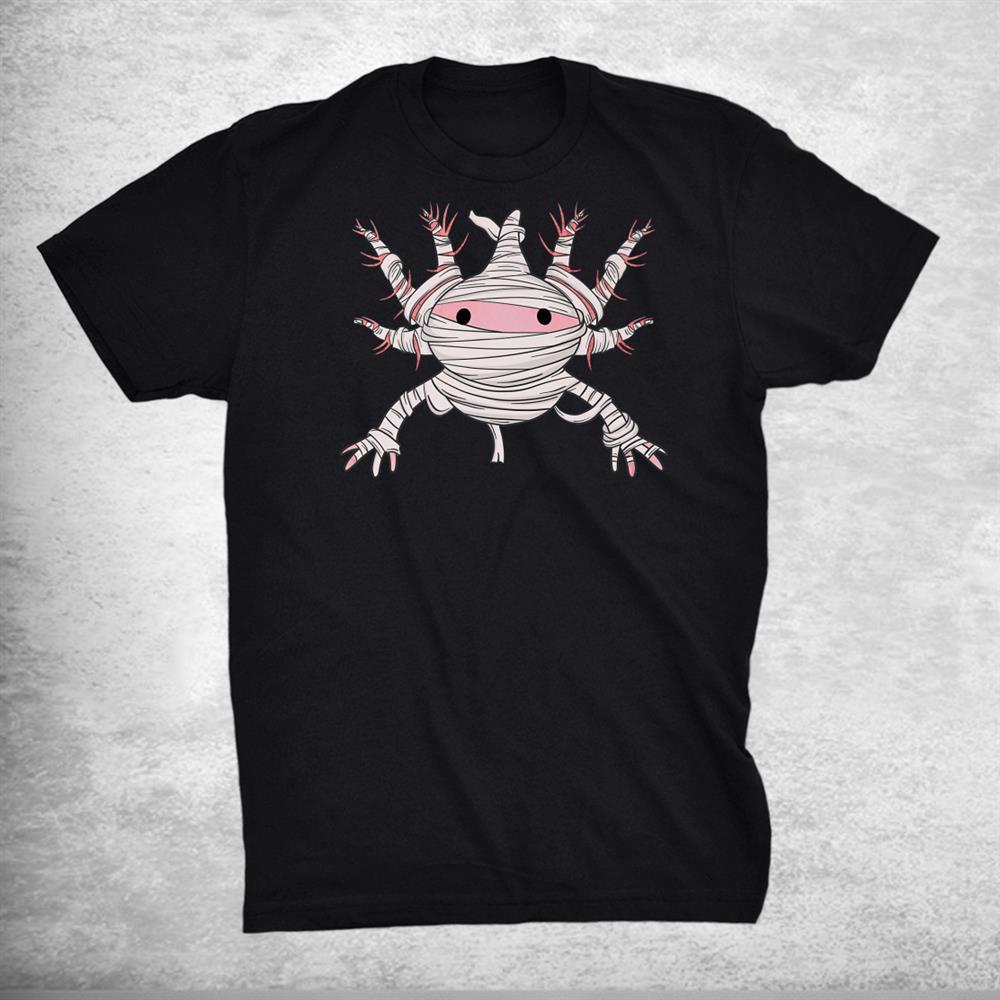 Axolotl Mummy Axolotl Halloween Shirt