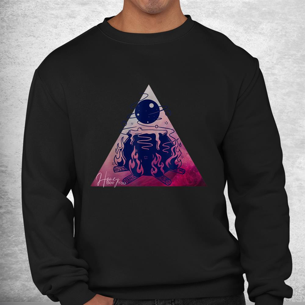 Beeyou Witchy Space Caludron Shirt