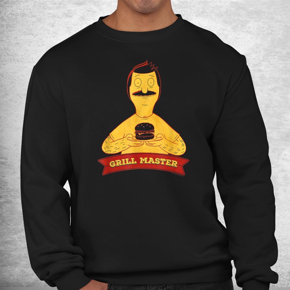 Bobs Burgers Bob Grill Master Cutout Shirt