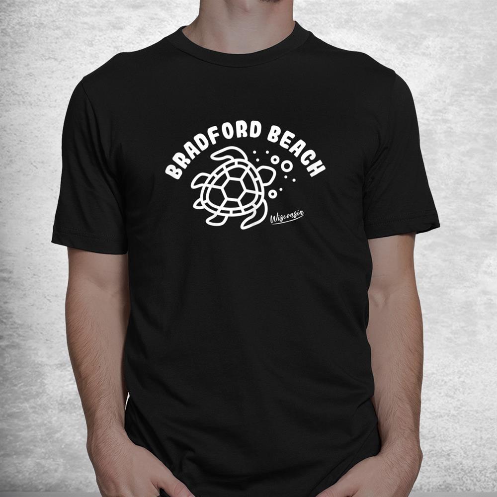 Bradford Beach Wisconsin Sea Turtle Souvenir Shirt
