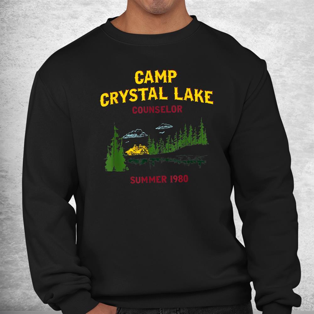 Camp Crystal Lake Counselor Summer 1980 Shirt