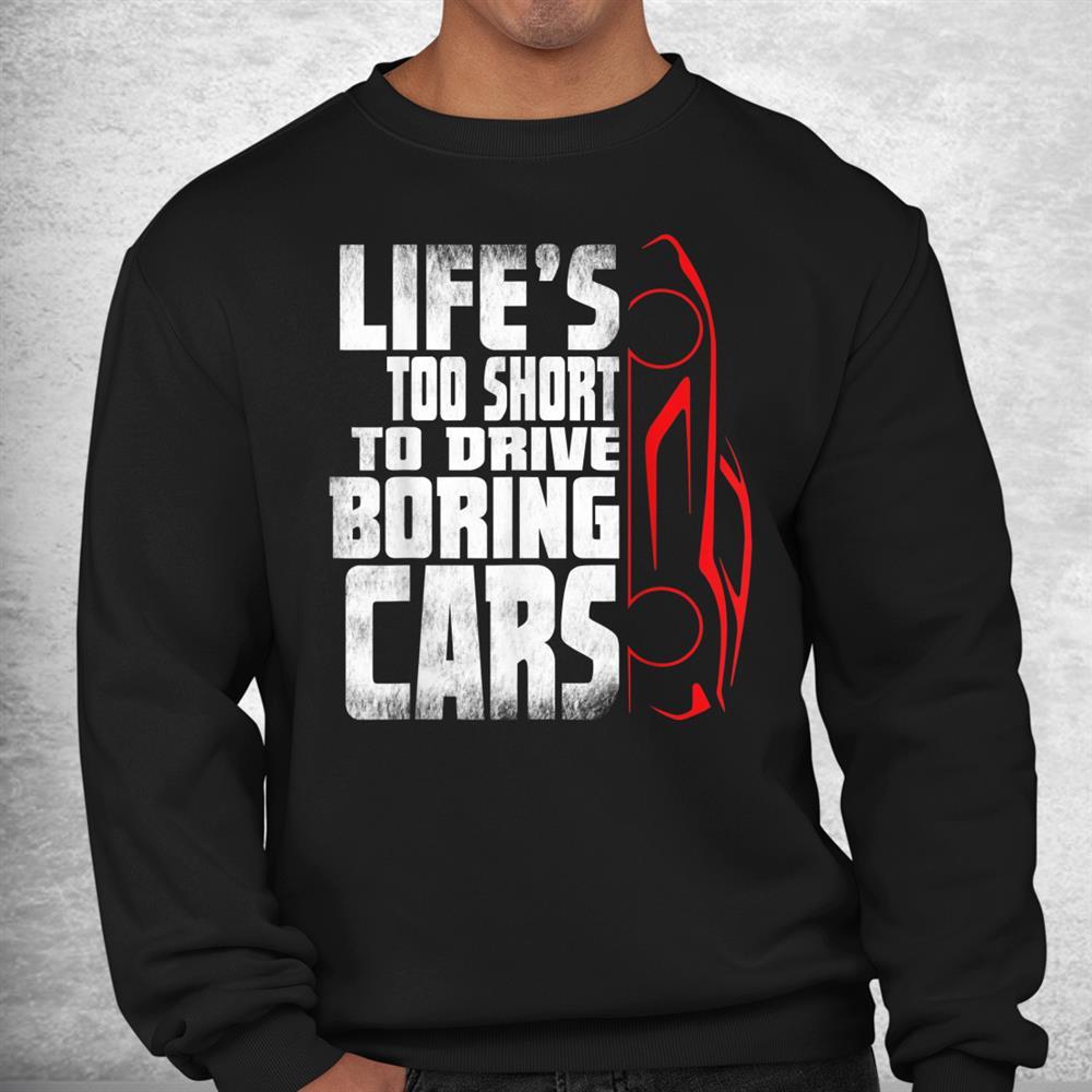 Car Lover Mechanic Tee For Car Guys Salesman Shirt