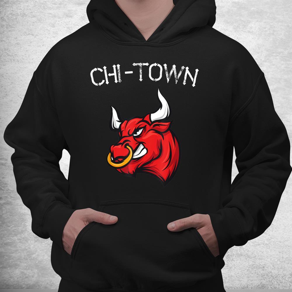 Chi Town Bull Chicago Fans Basketball Lover 23 Shirt
