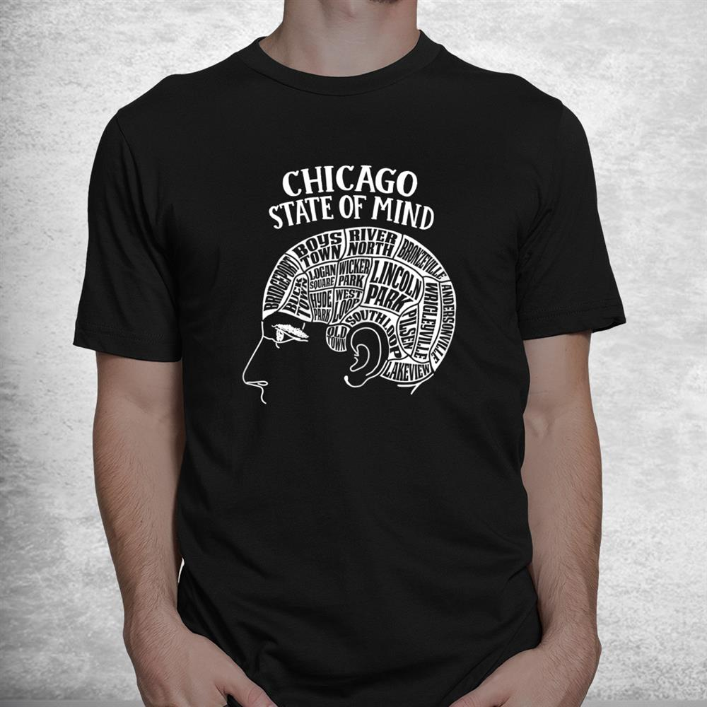 Chicago Illinois Brain Head Shirt