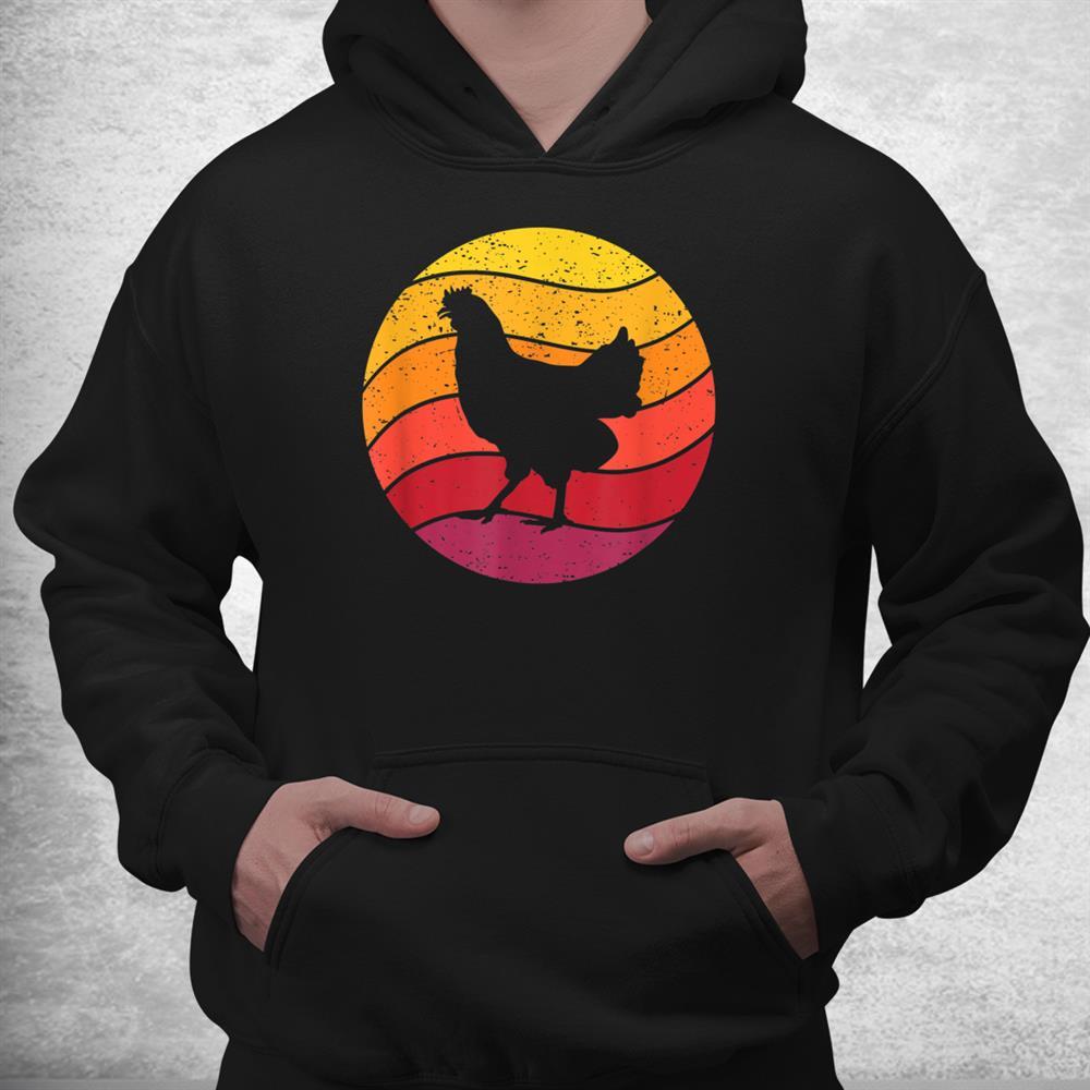 Chicken Retro Style Vintage Shirt
