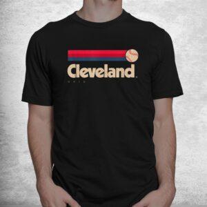 cleveland baseball softball city ohio retro cleveland shirt 1
