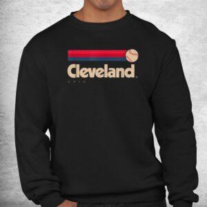 cleveland baseball softball city ohio retro cleveland shirt 2