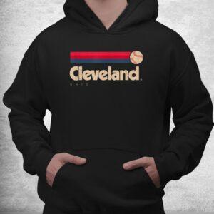 cleveland baseball softball city ohio retro cleveland shirt 3